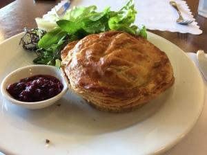Beef Bourgignon pie